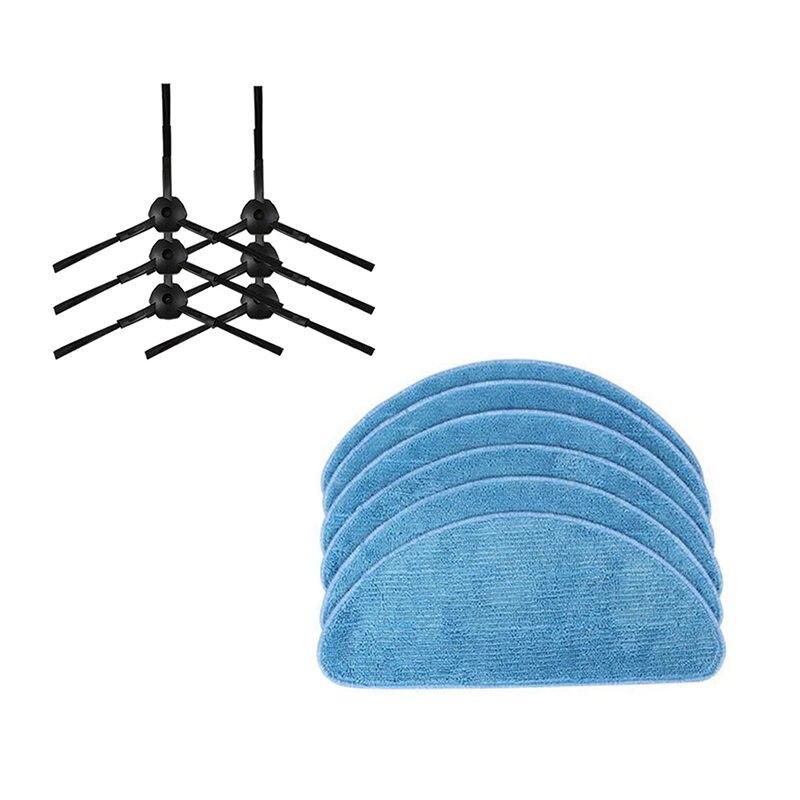 Vacuum Cleaner Side Brush Mop Clothes For Ilife V7S Pro Ilife V7 V7S Ilife V7S Plus Robotic Vacuum Cleaner Parts|Vacuum Cleaner Parts| |  -