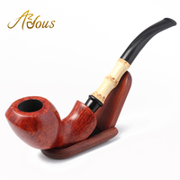 New Arrival Adous Handmade High End Athena Briar Smoking Pipe Tobacco Smoking Pipe Tobacco Accessories Father
