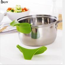 BXLYY1pc Горячая Кухня специальная противоскользящая сковорода с круглым горлышком край дефлектор жидкость дивертер заливка супа Вода Кухня Gadgets.7z