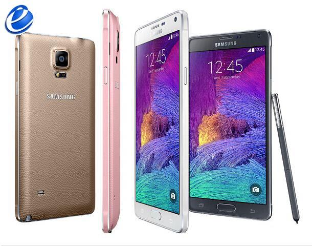 Цена за Оригинальный Разблокирована Samsung GALAXY Note4 note 4 N910F N910A N910P android Quad Core 5.7 дюймов RAM 3 ГБ 16 МП Восстановленное телефон