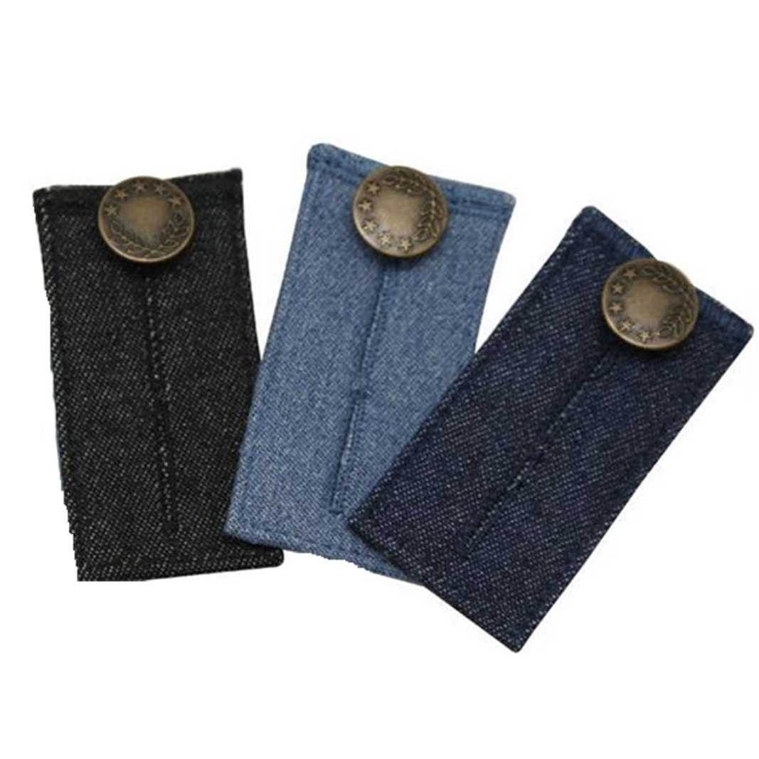 Cinturón para embarazada, soporte de maternidad, cintura del embarazo, cinturón elástico a la cintura, botón extensor ajustable, pantalones botón 4829