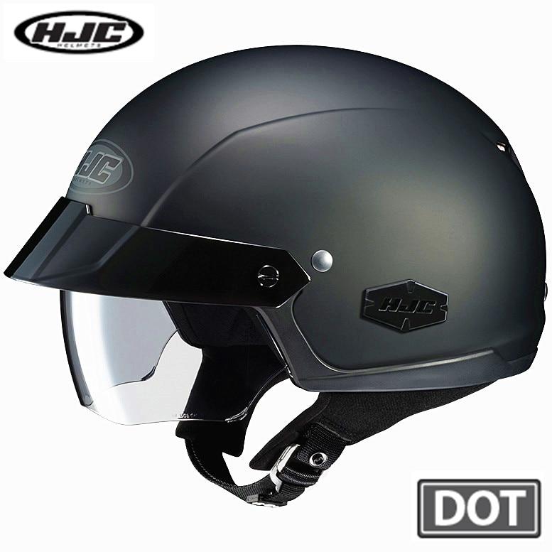 HJC IS-CRUISER Motorcycle Helmet Summer Harley Cruise Prince Edward Helmet Vintage Half Helmets casque moto