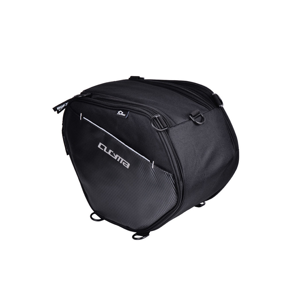 20 35L Motorcycles Tunnel Bags Front Storage Bags Motorbike Racing Saddle Bags Shoulder Straps Scooter Carbon PVC Motocross Bag in Tank Bags from Automobiles Motorcycles