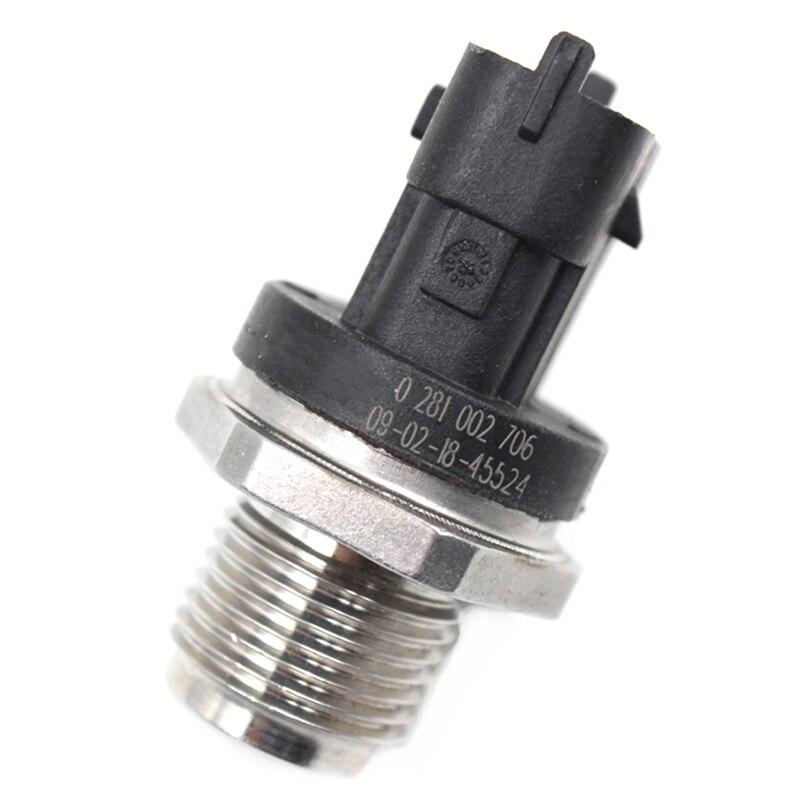 NUOVO Sensore di pressione del carburante RAIL FORD VOLVO RENAULT OPEL SAAB FIAT 0281002706