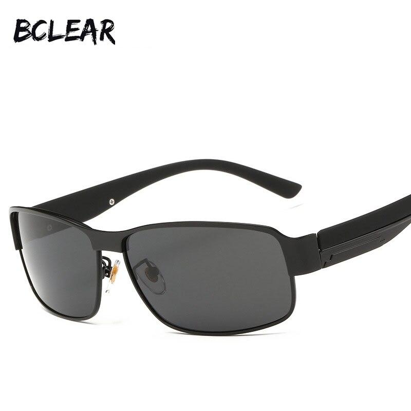 d3d0ba93e BCLEAR Liga clássicos Dos Homens de moda óculos de sol pequeno quadro óculos  polarizados óculos de condução óculos de sol P8485
