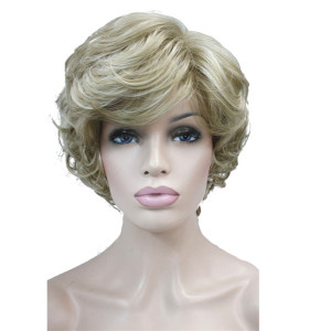 Image 2 - StrongBeauty Womens Wigs Black/Brown Natural Short Curly Hair Synthetic Full Wig 18 Color