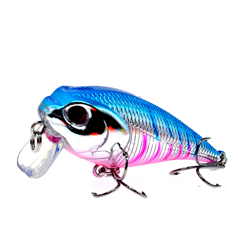 Image 3 - 55mm 9g Custom Wholesale Plastic Hard Body Lures Artificial Bait Japan Crankbait Fishing Lure Pesca-in Fishing Lures from Sports & Entertainment