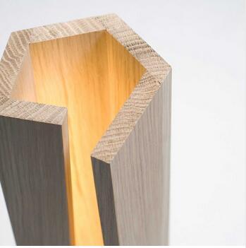 Простой твердой древесины настольная лампа Настольные лампы спальня Атмосфера лампы скандинавском стиле декоративные лампы освещения