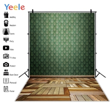 Yeele Professional Camera Photography Backdrops Flower Pattern Wood Floor Portrait Photographic Backgrounds For the Photo Studio