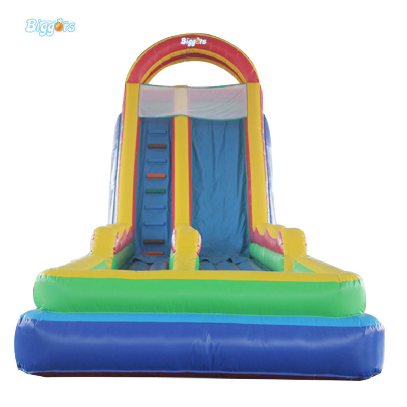 Inflatable Biggors Inflatable Jumping Trampoline Slide For Sale