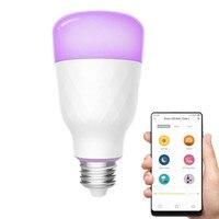YLDP06YL E26 E27 10W RGBW Smart LED Bulb Wifi App Control AC100 240V COD