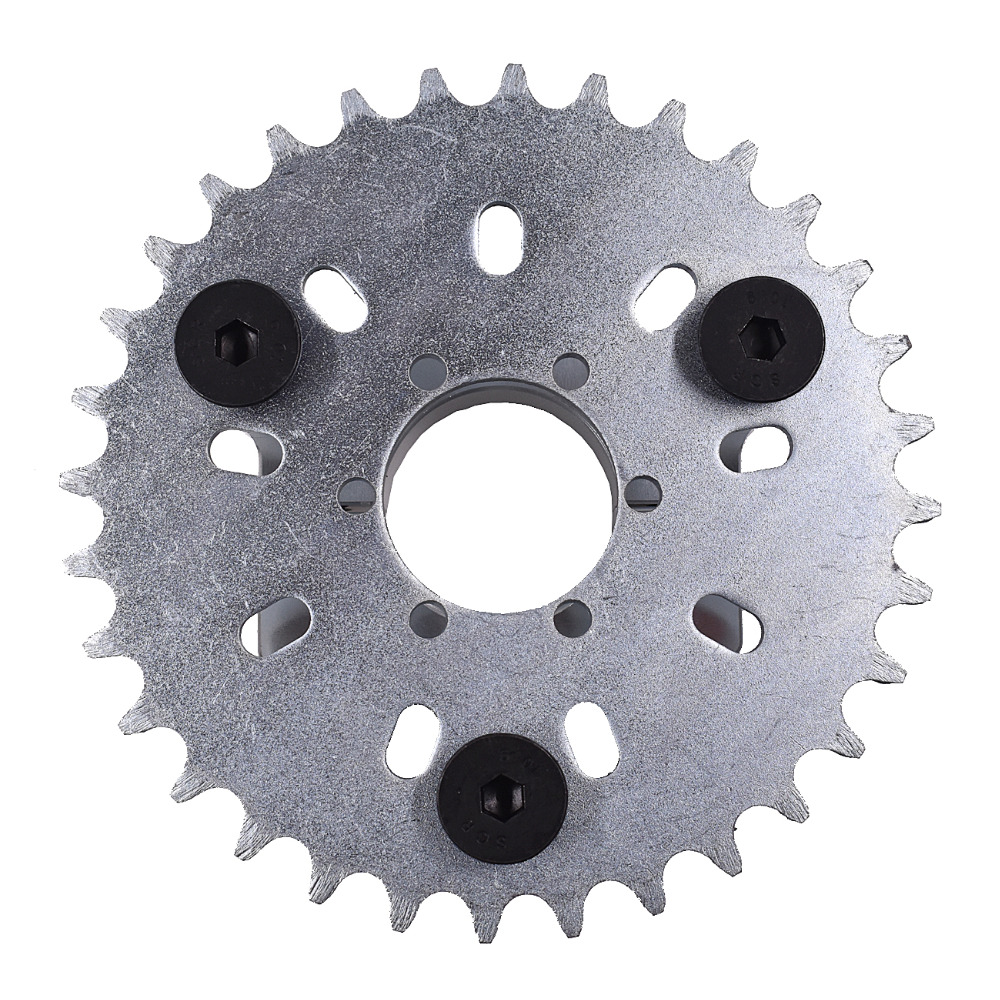 "415 Chain 38T Sprocket 1.5/"" Blue Adapter 80cc//66cc//60cc Motorized Bike"