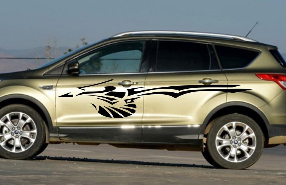 Aliexpress Com Buy Car Tribal Art Racing Door Decal For