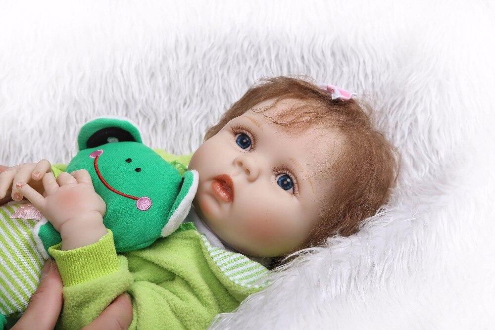 Npk 새로운 디자인 실리콘 reborn 아기 전신 부드러운 진짜 부드러운 터치 bonecas reborn 컷 bebe 인형 아이를위한 뜨거운 장난감-에서인형부터 완구 & 취미 의  그룹 2