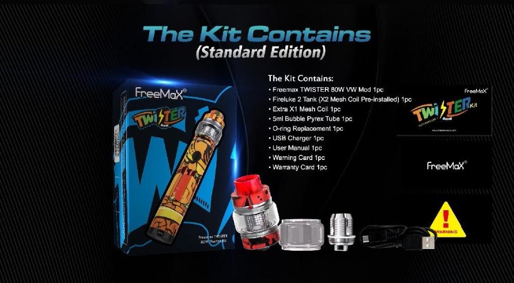 Freemax Twister 80W Starter Kit-7