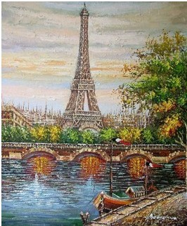 Popular Oil Painting France-Buy Cheap Oil Painting France