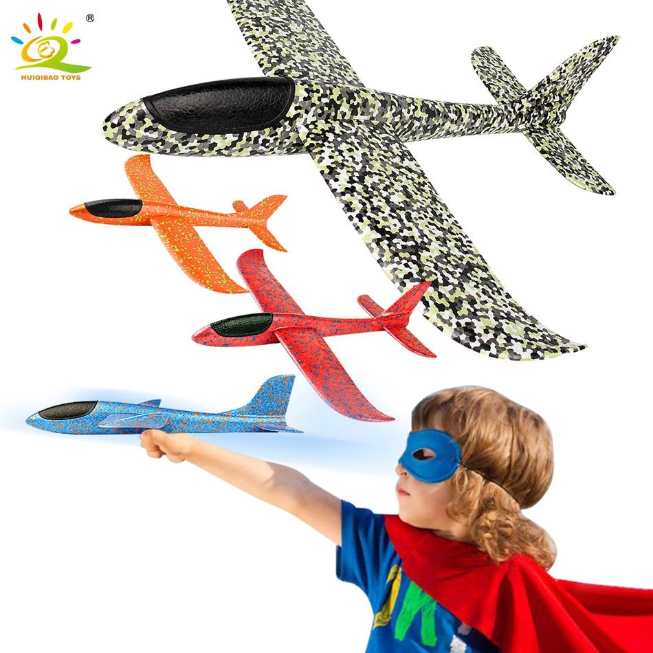 35CM main jeter vol planeur avions EPP avion modèle mousse remplisseurs avion activités de plein air Camping jouets pour enfants