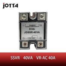 SSR -40VA VR To AC 40A Solid State Voltage Regulator SSVR