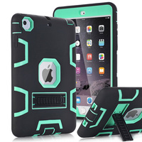 For Apple IPad Mini 1 2 3 Case Cover High Impact Resistant Hybrid Three Layer Heavy