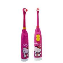 Nueva Energía de La Batería Niños cepillo de Dientes Eléctrico cepillo de Dientes Sónico Sonicare Oral Higiene Dental Care De Plástico Para El Bebé