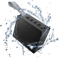 Ihens5 Bluetooth 4 2 Ultraportable Wireless Speakers Waterproof IPX6 Speaker Rating With 5W Deep Bass For