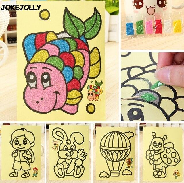 5 Pzlotto Bambini Bambini Giochi Di Disegno Pittura Di Sabbia