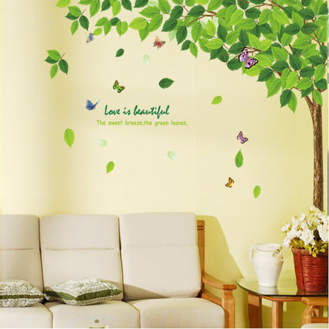DIY 200*250cm Large Family Trees Living Room Decoration 3d Wall Art ...