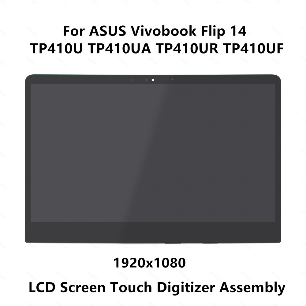 14 0 FHD LCD Screen Display Panel Touch Digitizer Glass Assembly For ASUS Vivobook Flip 14
