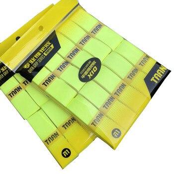 1 paquete = 10 Uds TAAN X10 raqueta de Tenis Overgrips de marca usable Tenis Overgrip raqueta abrasiva mano pegamento Badminton sticky grips