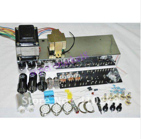 Guardabarros 5E3 Deluxe Amp 6V6 Push Pull Kit & chasis DIY Tweed Deluxe Clone Amp Kit 1 Unidades / envío gratis