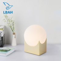 Nordic modern bedroom creative personality simple designer lamp study living room warm small desk lamp