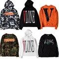 Vlone Hoodie Men Women 1:1 High Quality Hip Hop V Friend Vlone Hoodie Sweatshirts Off White Abloh Virgil Pullover Vlone Hoodie