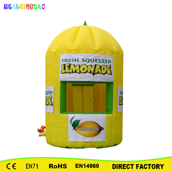 Free Shipping Hot Inflatable Lemonade Kiosk for Free Shipping,Booth Include CE or UL certificated Blower цена 2017