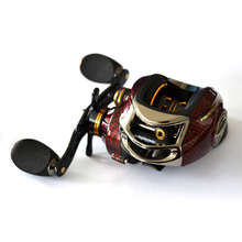Fishdrops BC150 17 + 1 ball Baitcasting Fishing Reel bearings 6.3:1 gear 18BB Left Right Hand Fishing Bait Right Left Hand