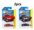 2 unids 1: 64 edición limitada de la Velocidad y la Pasión 7 Lykan Hypersport modelo de coche de Metal de Aleación de materiales de los niños de Carreras como niños regalos