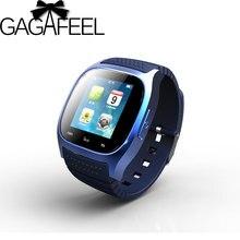 Armbanduhr Bluetooth Smart Uhr Sport Luxus Smartwatch mit Zifferblatt SMS Erinnern Pedometer für Android Samsung xiaomi Telefon