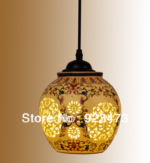 New wholesale vintage ceramic chandeliers chinese style ceramic new wholesale vintage ceramic chandeliers chinese style ceramic pendant lamp light for home living room light aloadofball Gallery