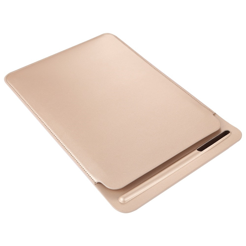 Ultra Thin Leather Portable Sleeve Case For Ipad Pro 12.9 2015 2017 With Pencil Slot Holder Pouch Bag Cover For Ipad 12.9 Inch