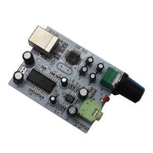 Image 5 - Carte Audio Lusya CM108 + TDA1305T + TDA1308 IIS/I2S à sortie 3.5mm USB Amp USB DAC décodeur A1 009