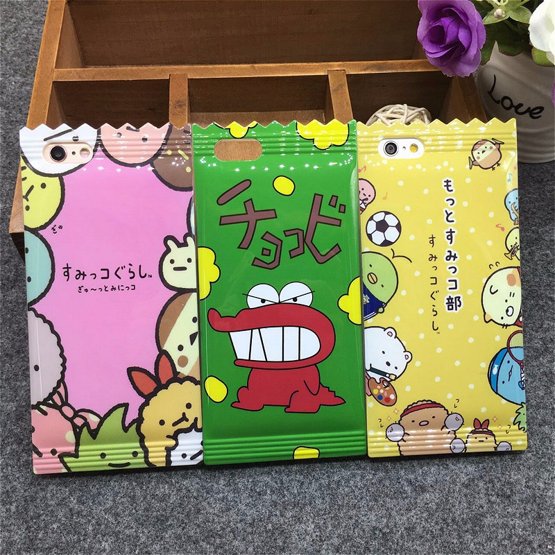 Fashion Japan Cartoon Dinosaur Candy Shape Soft Back Cover