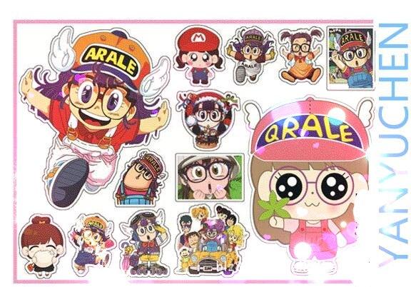 """Set of 5 /""""OLD SCHOOL/"""" mini BIKER New stickers HELMET SKATEBOARD Sticker STI-0282"""