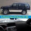 Автомобильные коврики для приборной панели  аксессуары для стайлинга автомобиля  чехол для приборной панели для Mitsubishi Pajero 2 SFX Montero 1991  1995  1994 ...