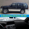 Dashmats-car styling acessórios do carro tampa do painel para Mitsubishi Montero Pajero 2 SFX 1991 1992 1993 1994 1995 1998 1999 1997