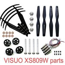 Rc 드론 원래 부품 visuo xs809w xs809hw xs809 rc quadcopter 예비 부품 스핀들 기어드 베어링 모터 기어드 엔진