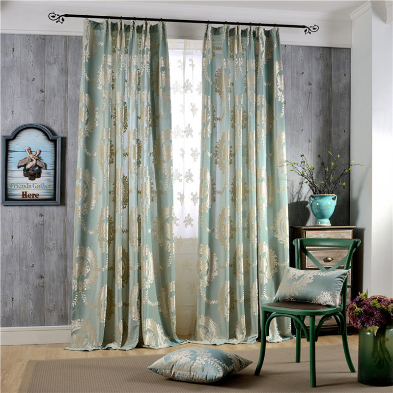 sale highgrade european jacquard curtain window curtain for living
