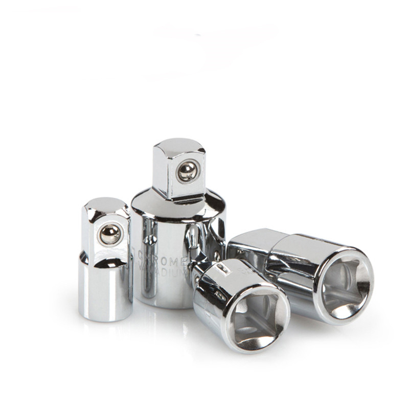 Hand Tools 4pcs 1/4 3/8 1/2 Inch Drive Socket Adapter Converter Reducer Chrome Vanadium Steel Air Impact Craftsman Ratchet Wrench Adapter Complete In Specifications