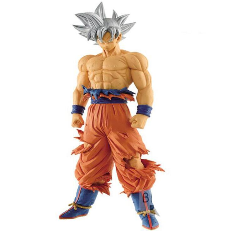 Anime Dragon Ball Z Super Ultra Instinct Goku Migatte No Gokui Key Of Egoism Figure Model Collection Toys 26cm