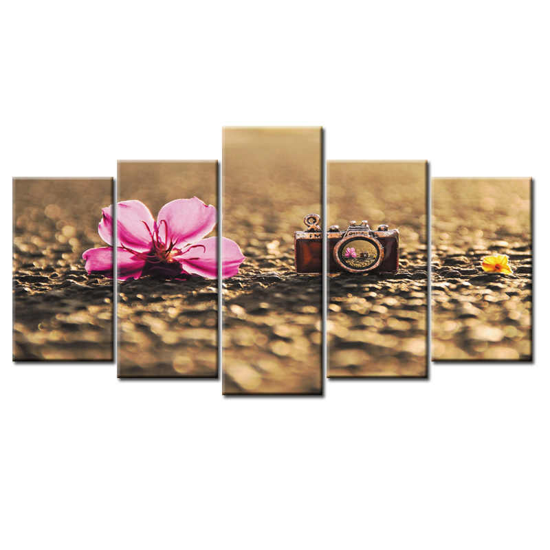 5 Pieces/set Flower poster Wall Art For Wall Decor Home Decoration Picture Paint on Canvas Prints Painting/Abstract-28