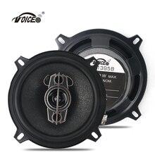 Magicvoice Car Audio Subwoofer Speakers with 5 inch 200W Power 2pcs Full Range Loudspeakers