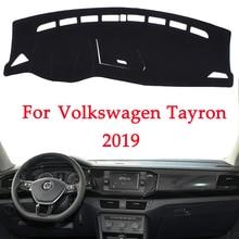 Evite Pad luz do Painel Do carro Para A Volkswagen TAYRON 2019 instrumento Tampa Secretária Plataforma Mats Tapetes interior Automotivo produto